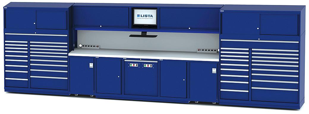 Attractive Lista Storage #14 - Lista Tool Storage Cabinets